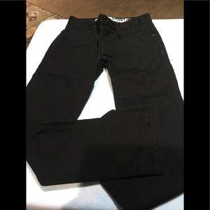 Boys black skinny jeans size 8 shaun white